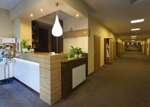 The lobby or reception area at Hotel Polonez