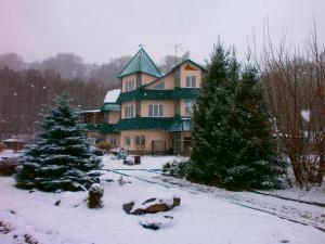 Усадьба Сар-Герел Алтая зимой