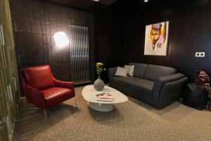 O zonă de relaxare la Hotel Orhideea