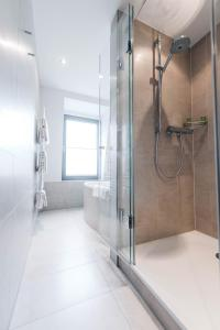 A bathroom at Ringhotel KOCKS am Mühlenberg