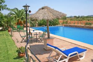 The swimming pool at or near Finca Son Guardiola