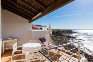 Uma varanda ou terraço em Casa d'Arriba