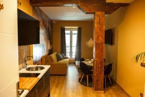 Area soggiorno di Art Suite