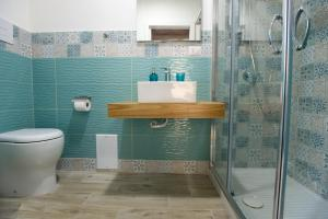A bathroom at Doralice comfort house