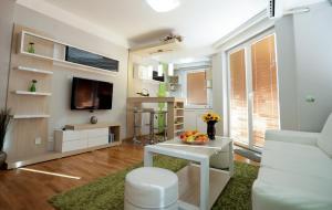 Posedenie v ubytovaní Apartments Matjan