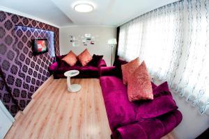 Ein Bett oder Betten in einem Zimmer der Unterkunft Rental House Ankara