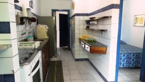 A kitchen or kitchenette at Presente do Mar