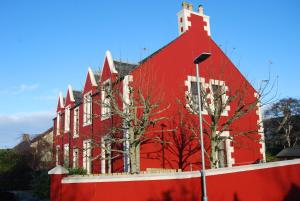 Stornoway Apartment during the winter