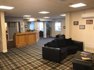 The lobby or reception area at Drumoig Golf Hotel