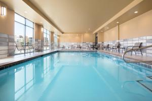 The swimming pool at or near Hampton Inn Salt Lake City Cottonwood