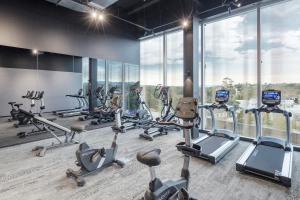 Das Fitnesscenter und/oder die Fitnesseinrichtungen in der Unterkunft Sage Melbourne Ringwood