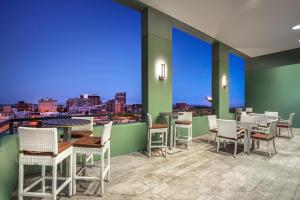 A restaurant or other place to eat at AC Hotel Asheville Downtown