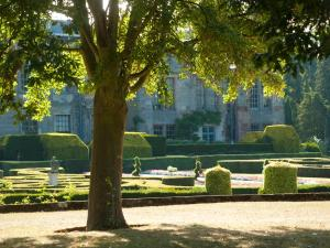 A garden outside Coombe Abbey Hotel
