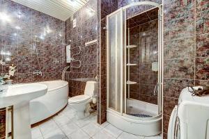 Ванная комната в Апартамент №2 на Мойка 27