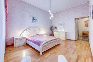 Кровать или кровати в номере Апартамент №2 на Мойка 27