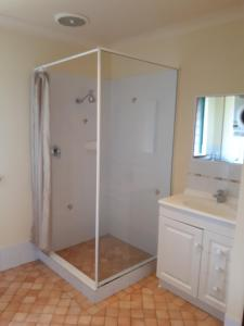 A bathroom at Walpole Wilderness Resort