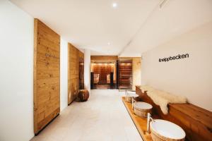 Ein Badezimmer in der Unterkunft adler alpen apartments
