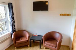 A seating area at Gerdi Guesthouse