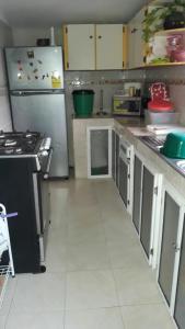 Küche/Küchenzeile in der Unterkunft Posada Miss Portia
