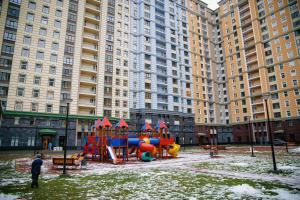 Детская игровая зона в Na Frunzenskoy Apartment