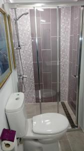 Een badkamer bij Finca EuroPeCa