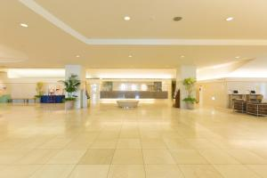 The lobby or reception area at Hotel Sapporo Garden Palace