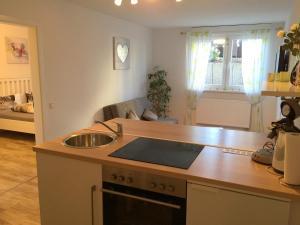 Küche/Küchenzeile in der Unterkunft Gästehaus Dolce Vita