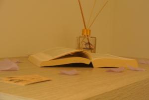 Letto o letti in una camera di B&B Cà da Franca
