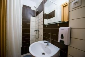 A bathroom at Integralni Hotel & Hostel Zagreb