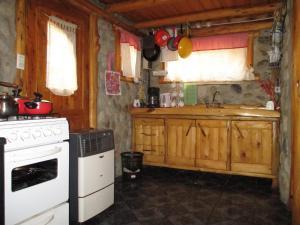 Una cocina o kitchenette en Paraiso Bariloche
