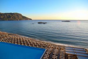 The swimming pool at or near Alimounda Mare Hotel