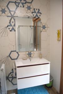 Um banheiro em La Fragua de Etayo