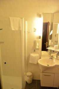 Ванная комната в Hotel Touric