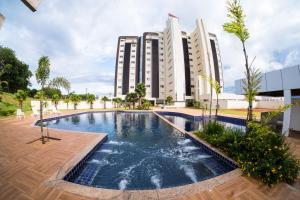 A piscina localizada em Hd Park Hotel ou nos arredores
