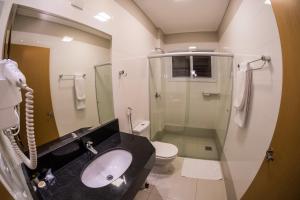 Um banheiro em Hd Park Hotel