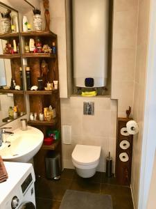 Koupelna v ubytování Vista Suites 1-2