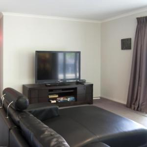 A television and/or entertainment center at Montebello