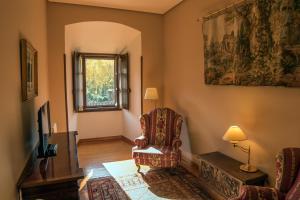 Zona de estar de Hostería del Monasterio de San Millan