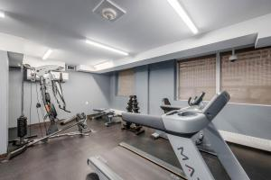 The fitness center and/or fitness facilities at Regency Suites Hotel