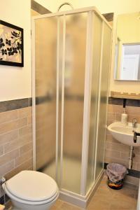 A bathroom at Salerno Al Golfo B&B