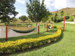 Um jardim em Tocas do Lago