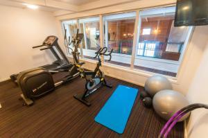 Treningsrom og/eller treningsutstyr på Dolmsundet Hotell Hitra