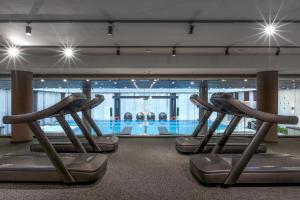 Фитнес-центр и/или тренажеры в Отель Hilton Санкт-Петербург Экспофорум