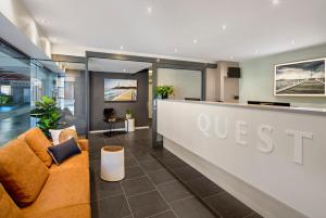 The lobby or reception area at Quest Geelong