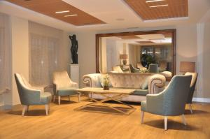 Гостиная зона в Hotel Selu