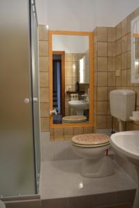 A bathroom at La Casa di Roberta