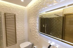 A bathroom at Civico Cinque Home Luxury Apartment