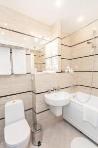 Ванная комната в Отель Силуэт