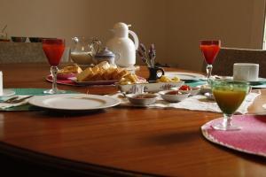 Opciones de desayuno para los huéspedes de Evergreen