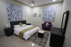 Cama ou camas em um quarto em Golden Dome